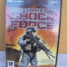 Videojuegos y Consolas: COMBAT MISSION SHOCK FORCE, PC CD-ROM. Lote 145757306