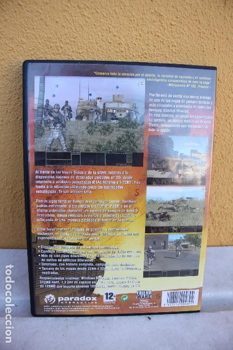 Videojuegos y Consolas: Combat Mission shock force, PC CD-ROM - Foto 2 - 145757306