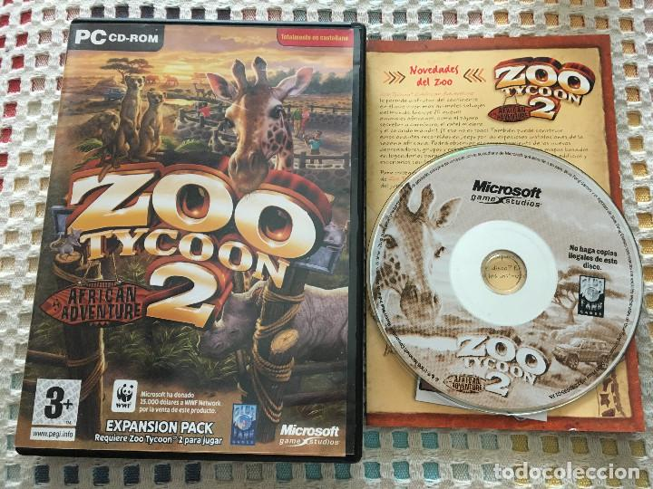 ZOO TYCOON 2 AFRICAN ADVENTURE EXPANSION PACK PC CD ROM KREATEN