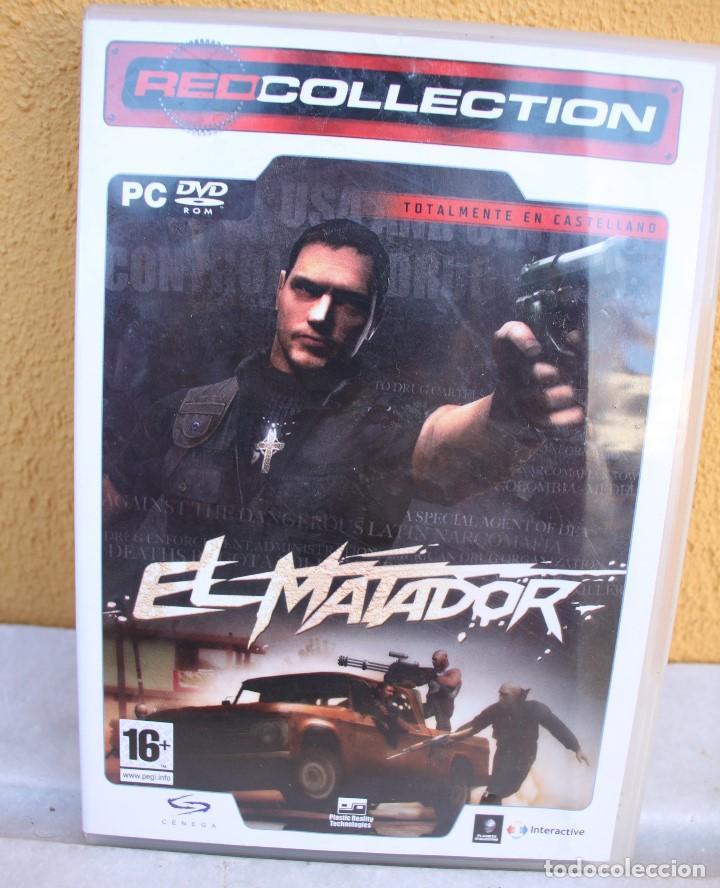 JUEGO PC EL MATADOR, EN CASTELLANO (Juguetes - Videojuegos y Consolas - PC)