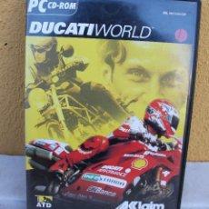 Videojuegos y Consolas: JUEGO PC DUCATI WORLD. Lote 145761262