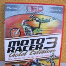Videojuegos y Consolas: JUEGO PC MOTOR RACER 3 GOLD EDITION. Lote 145770542