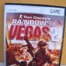 Videojuegos y Consolas: JUEGO PC TOM CLANCY´S RAINBOW SIX VEGAS 2. Lote 145841222