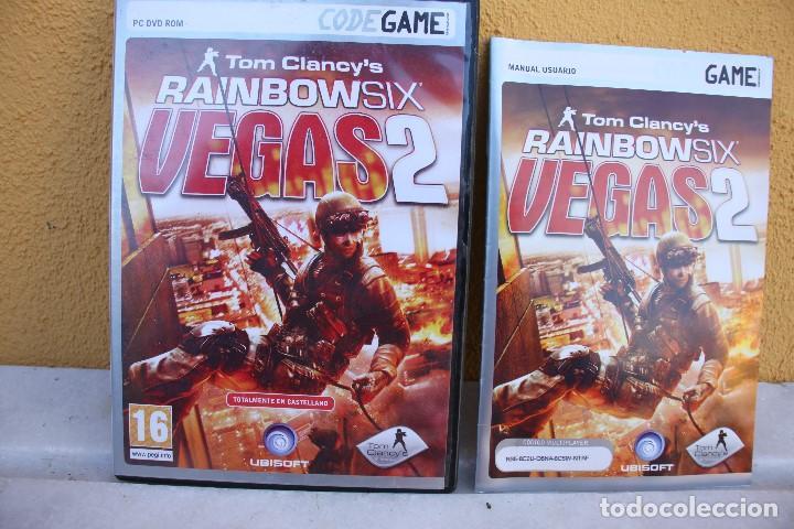 Videojuegos y Consolas: Juego PC Tom Clancy´s Rainbow Six Vegas 2 - Foto 2 - 145841222