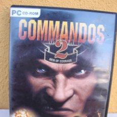 Videojuegos y Consolas: JUEGO PC COMMANDOS 2. Lote 145841566