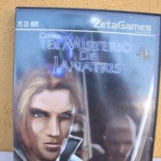 Videojuegos y Consolas: JUEGO PC EL MISTERIO DE JANATRIS. Lote 145842898