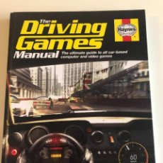 Videojuegos y Consolas: LIBRO THE DRIVING GAMES MANUAL SOBRE VIDEOJUEGOS DE COCHES RETRO GAMER GRAN TURISMO. Lote 145908934