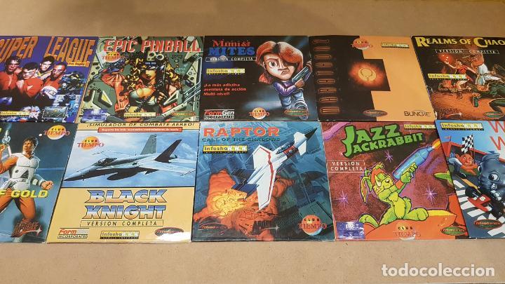 10 ESTUPENDOS JUEGOS PC-CD ROM / REVISTA TIEMPO / EN MUY BUEN ESTADO. VER FOTOS. (Juguetes - Videojuegos y Consolas - PC)
