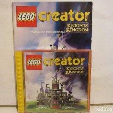 Videojogos e Consolas: CREATOR KNIGHTS KINGDOM - LEGO - CD + MANUAL - 2000 - SPAIN - VG+/VG. Lote 146509534