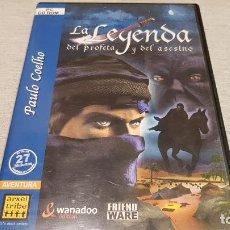 Videojuegos y Consolas: PC / CD-ROM !! LA LEYENDA DEL PROFETA Y DEL ASESINO / 2 CDS / MUY BUENA CALIDAD.. Lote 146730998