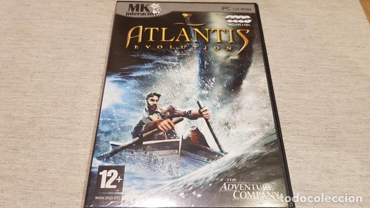 ATLANTIS EVOLUTION / THE ADVENTURE COMPANY / PC-CD ROM / INCLUYE 4 CDS / BUENA CALIDAD. (Juguetes - Videojuegos y Consolas - PC)
