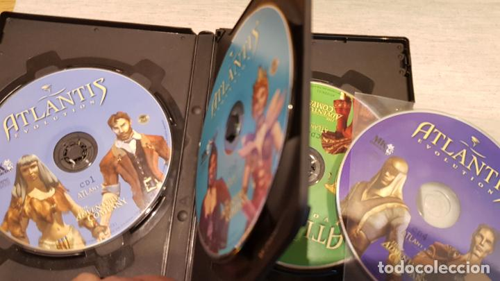 Videojuegos y Consolas: ATLANTIS EVOLUTION / THE ADVENTURE COMPANY / PC-CD ROM / INCLUYE 4 CDS / BUENA CALIDAD. - Foto 2 - 146731510