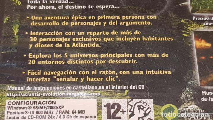 Videojuegos y Consolas: ATLANTIS EVOLUTION / THE ADVENTURE COMPANY / PC-CD ROM / INCLUYE 4 CDS / BUENA CALIDAD. - Foto 4 - 146731510