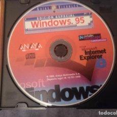 Videojuegos y Consolas: CDROM -EDICION ESPECIAL WINDOWS 95 Y MICROSOFT INTERNET EXPLORER -VER FOTOS. Lote 146741870