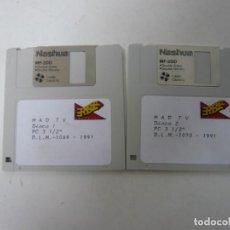 Videojuegos y Consolas: MAD TV - DISQUETES DEL JUEGO / IBM PC Y COMPATIBLES / VIDEOJUEGO RETRO VINTAGE / DISKETTE. Lote 147189810
