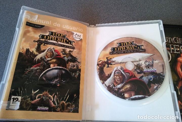 Videojuegos y Consolas: Lote juegos Pc Final Conquest Dungeon Siege El Señor de los Anillos Sacred - Foto 2 - 147342702