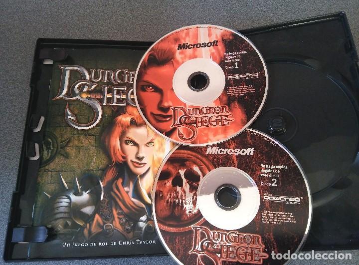 Videojuegos y Consolas: Lote juegos Pc Final Conquest Dungeon Siege El Señor de los Anillos Sacred - Foto 3 - 147342702