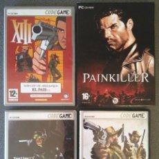 Videogiochi e Consoli: LOTE JUEGOS PC XIII PAINKILLER SPLINTER CELL CALL OF JUAREZ. Lote 147352310