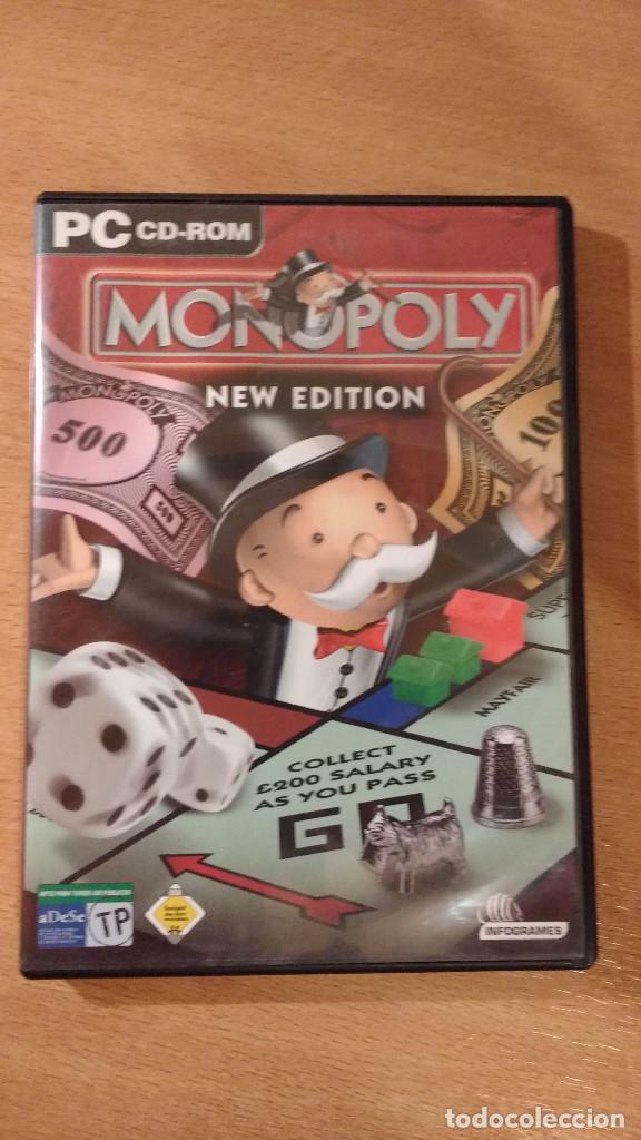 MONOPOLY NEW EDITION CD-ROM PARA PC (Juguetes - Videojuegos y Consolas - PC)