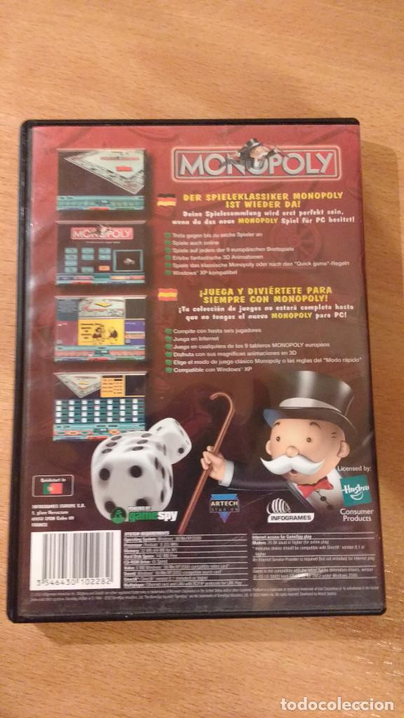 Videojuegos y Consolas: MONOPOLY NEW EDITION CD-ROM para PC - Foto 2 - 147698722