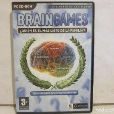 Videojuegos y Consolas: BRAIN GAMES - EJERCITA TU MENTE - CD - PC - 2007 - NM+/EX+. Lote 147703126