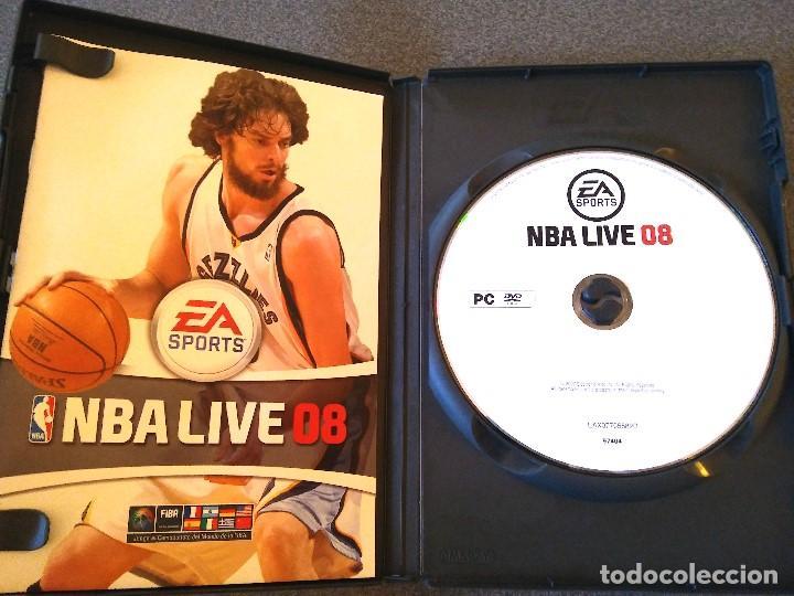 Videojuegos y Consolas: Lote juegos Pc Supreme Snowboarding Viva Football NBA Live 08 - Foto 5 - 147769122