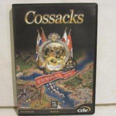 Videojuegos y Consolas: COSSACKS EUROPEAN WARS - PC - COMPUTER HOY - JUEGO COMPLETO - MANUAL - NM+/NM. Lote 147789978