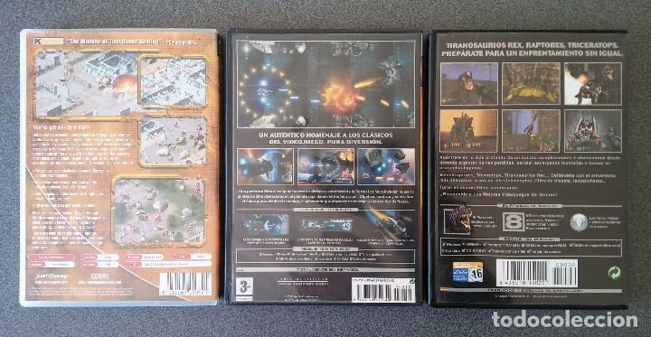 Videojuegos y Consolas: Lote juegos Pc Laser Squad Némesis Mar Invaders Turok - Foto 2 - 148057574
