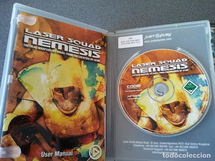 Videojuegos y Consolas: Lote juegos Pc Laser Squad Némesis Mar Invaders Turok - Foto 3 - 148057574