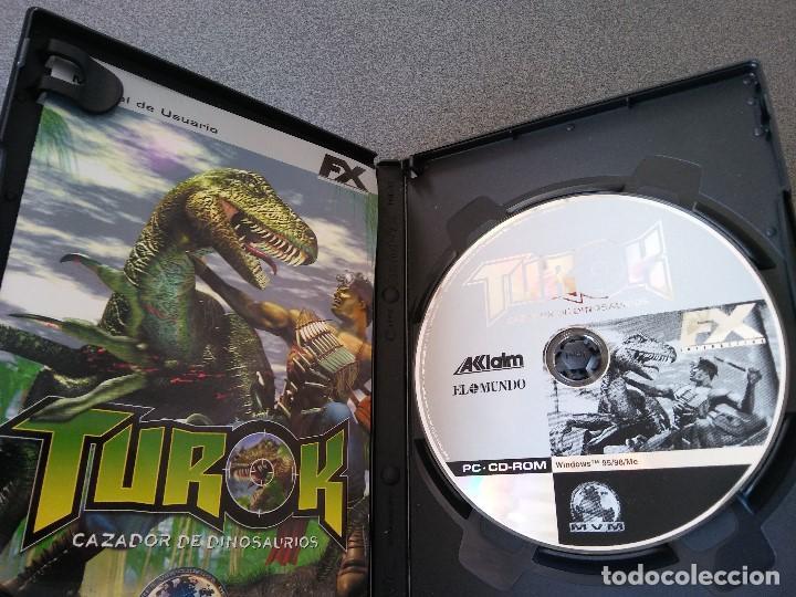 Videojuegos y Consolas: Lote juegos Pc Laser Squad Némesis Mar Invaders Turok - Foto 5 - 148057574
