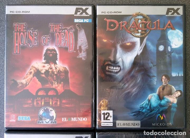 Videojuegos y Consolas: Lote Juegos Pc House of the Dead Drácula II The Longest Journey Black Mirror - Foto 2 - 148058222