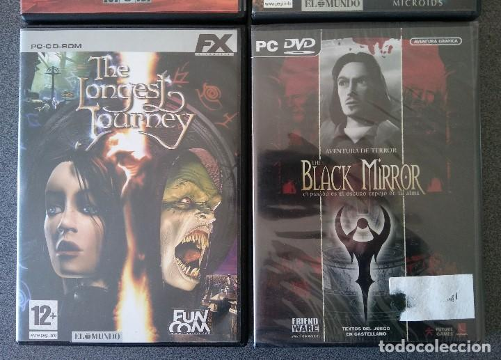 Videojuegos y Consolas: Lote Juegos Pc House of the Dead Drácula II The Longest Journey Black Mirror - Foto 3 - 148058222
