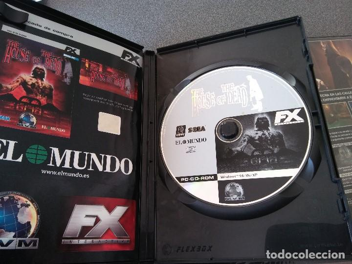 Videojuegos y Consolas: Lote Juegos Pc House of the Dead Drácula II The Longest Journey Black Mirror - Foto 5 - 148058222