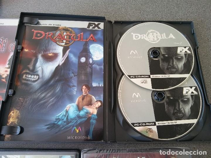 Videojuegos y Consolas: Lote Juegos Pc House of the Dead Drácula II The Longest Journey Black Mirror - Foto 6 - 148058222