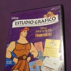 Videojuegos y Consolas: DISNEY ESTUDIO GRAFICO HERCULES CD ROM WINDOSWS PC PC CD ROM. Lote 148248850