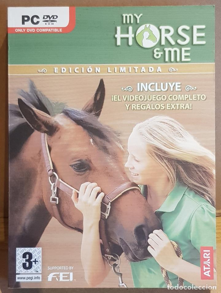 MY HORSE & ME / EDICIÓN LIMITADA / 2 DVD / MUY BUENA CALIDAD. (Juguetes - Videojuegos y Consolas - PC)