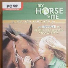 Videojuegos y Consolas: MY HORSE & ME / EDICIÓN LIMITADA / 2 DVD / MUY BUENA CALIDAD.. Lote 148326490