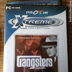 Videojuegos y Consolas: GANGSTERS JUEGO PC. Lote 147441626