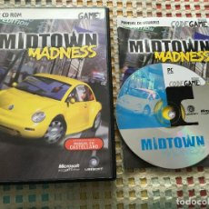 Videojuegos y Consolas: MIDTOWN MADNESS PC CD ROM CODEGAME KREATEN. Lote 148361066