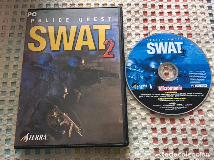 POLICE QUEST SWAT 2 SIERRA PC CD ROM KREATEN (Juguetes - Videojuegos y Consolas - PC)