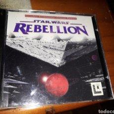 Videojuegos y Consolas: JUEGO DE PC STAR WARS REBELLION-LUCAS ARTS. Lote 148362793