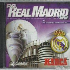 Videojuegos y Consolas: PC REAL MADRID (TEMPORADA 98/99). Lote 148492414