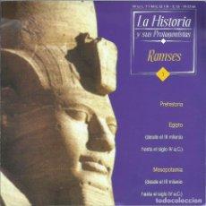 Videojuegos y Consolas: LA HISTORIA Y SUS PROTAGONISTAS: RAMSES. Lote 148493614
