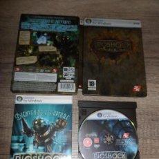 Videojuegos y Consolas: PC BIOSHOCK STEELBOOK EDITION PAL ESP COMPLETO. Lote 148518782