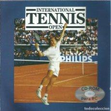 Videojuegos y Consolas: INTERNATIONAL TENNIS OPEN. Lote 148581878