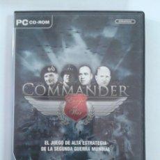Videojuegos y Consolas: COMMANDER EUROPE AT WAR - JUEGO DE PC. Lote 148627146