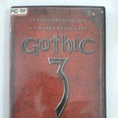 Videojuegos y Consolas: GOTHIC 3. - JUEGO DE PC. Lote 148630462