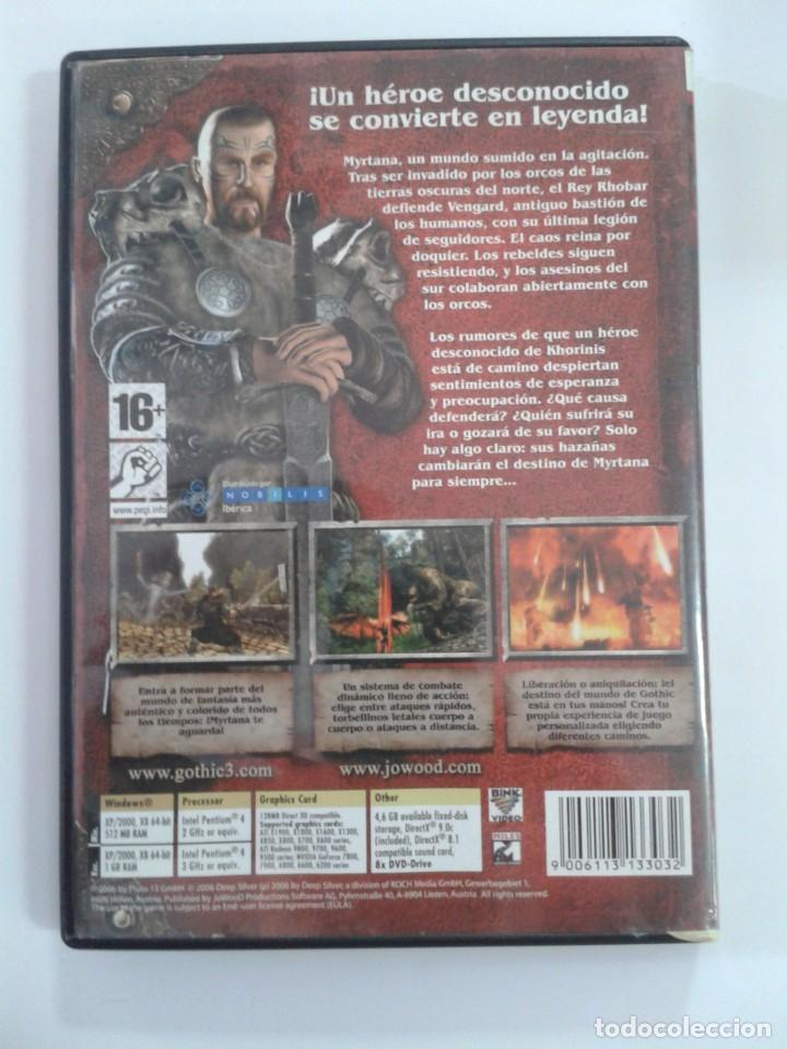Videojuegos y Consolas: GOTHIC 3. - Juego de PC - Foto 2 - 148630462