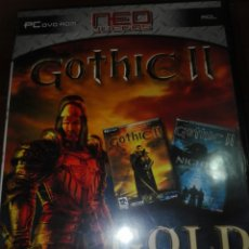 Videojuegos y Consolas: JUEGO PC GOTHIC II GOLD EDITION. Lote 148683350