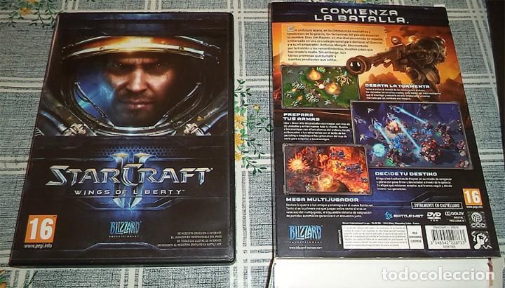 STAR CRAFT II WINGS OF LIBERTY JUEGO PC CON INSTRUCCIONES EN CAJA DE CARTON STARCRAFT segunda mano